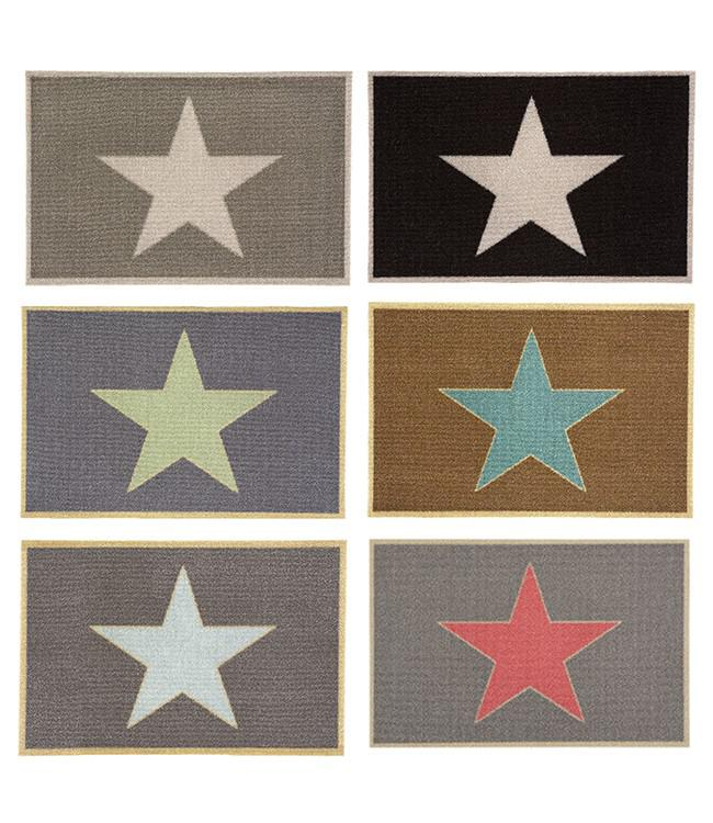 CORYL HOME - 60 x 40 cm. - HOOK - 6PCS ASSORT. - #STARS