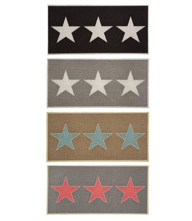 CORYL HOME - 80 x 40 cm. - HOOK - 6PCS ASSORT. - #STARS
