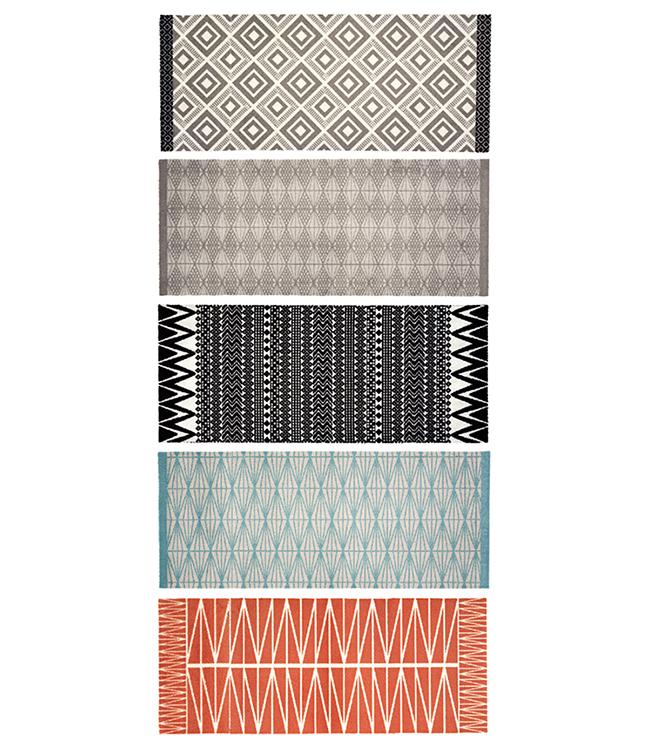 CORYL HOME - 120 x 50 cm. - HOOK - 5PCS ASSORT. - ETHNIC