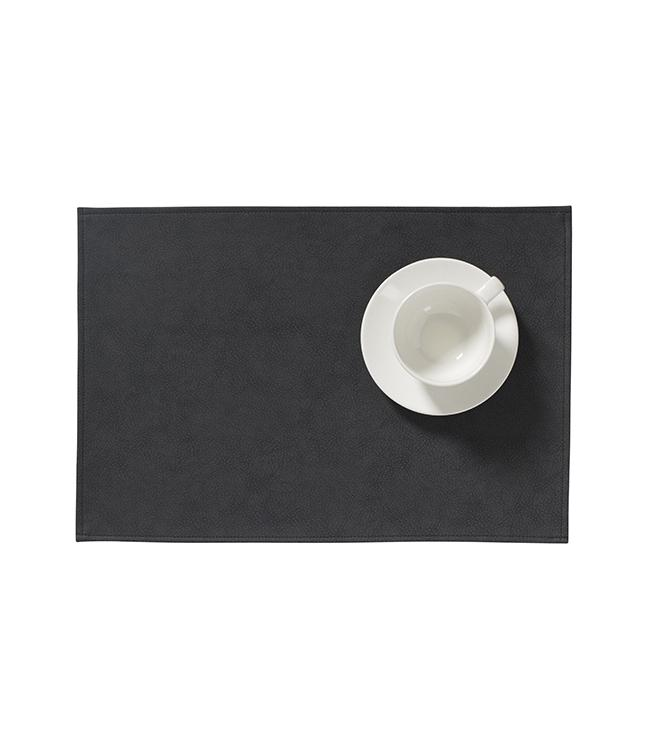 MONACO RAW - PLACEMAT XL - 48 x 35 CM - 12 PCS. - BLACK