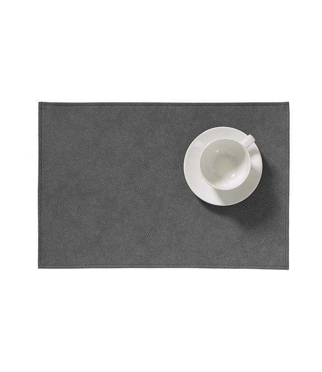 MONACO RAW - PLACEMAT XL - 48 x 35 CM - 12 PCS. - STORM GREY