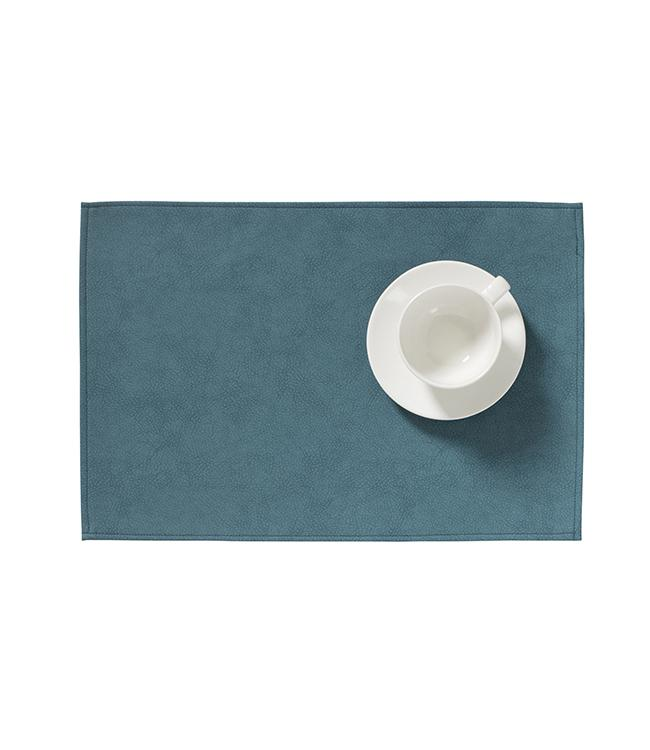 MONACO RAW - PLACEMAT XL - 48 x 35 CM - 12 PCS. - PETROL