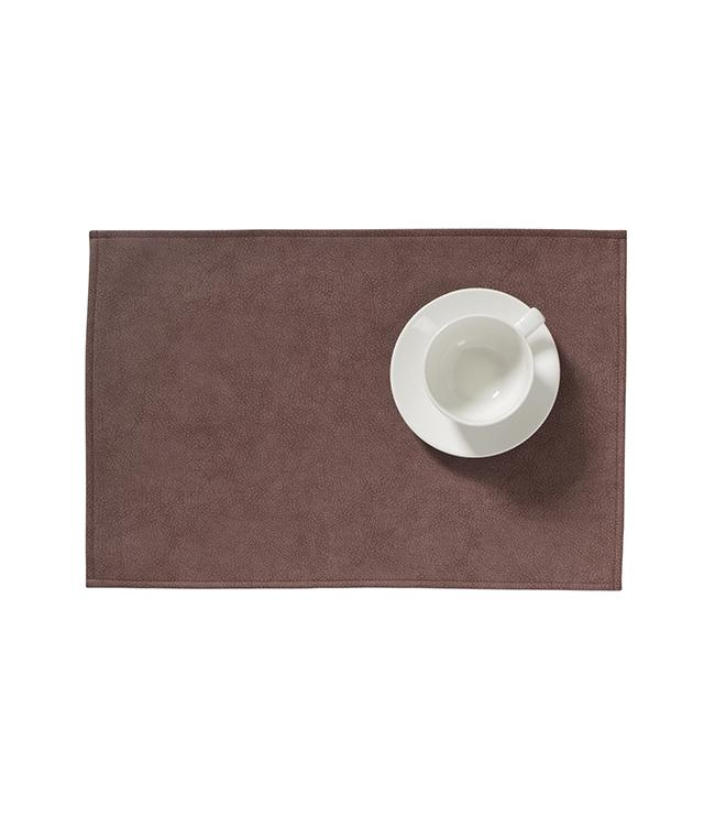 MONACO RAW - PLACEMAT XL - 48 x 35 CM - 12 PCS. - PECAN