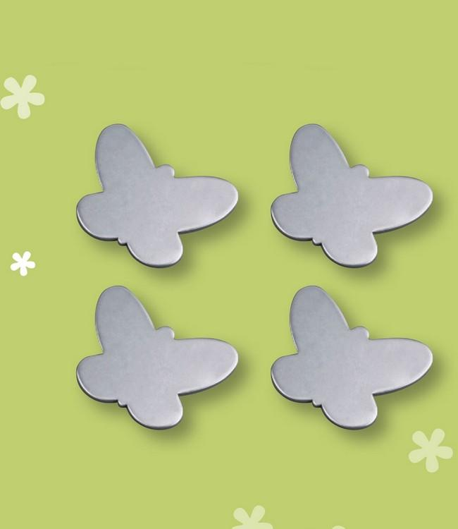 TABLE WEIGHT MAGNET - 12 SETS/4 PC. - BUTTERFLY