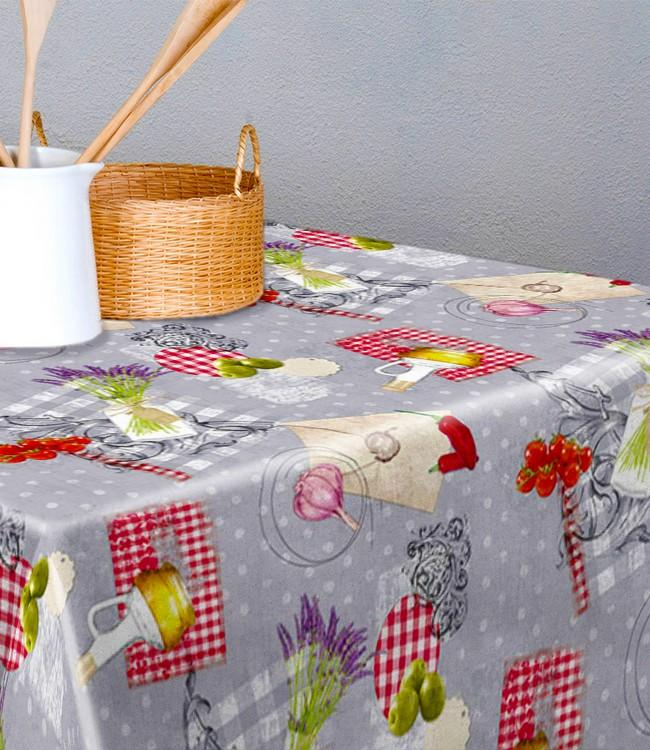 TABLE PROTECTOR PRINTED - 140cm - 20m - ALORA