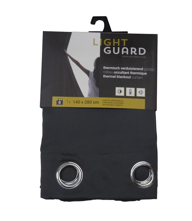 LIGHT GUARD - thermal bo eyelets - 140x280cm - 2pc - IRON