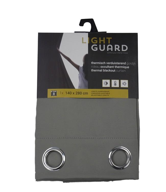 LIGHT GUARD - thermal bo eyelets - 140x280cm - 2pc - FLINT