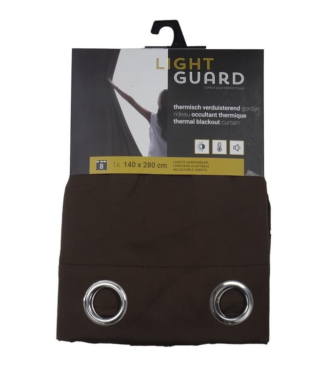 LIGHT GUARD - thermal bo eyelets - 140x280cm - 2pc - ESPRESS