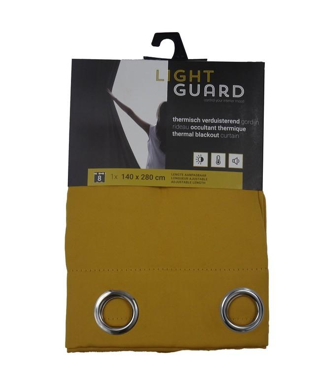 LIGHT GUARD - thermal bo eyelets - 140x280cm - 2pc - HONEY G