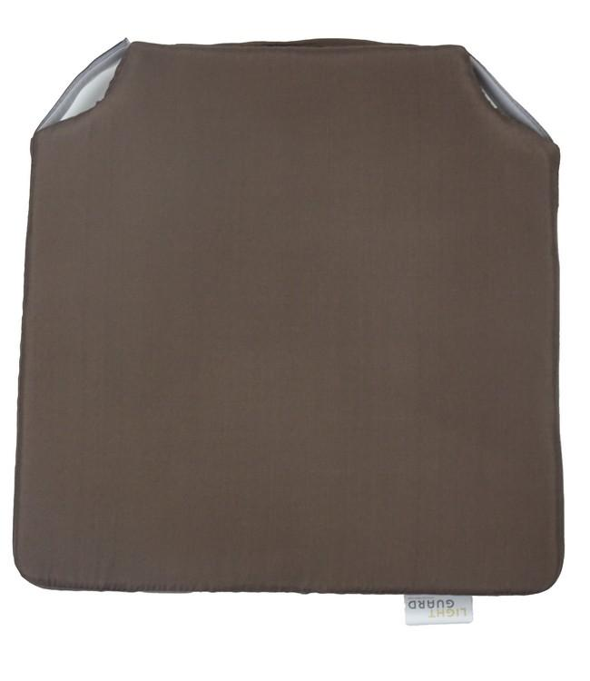 LIGHT GUARD - chairpad - 40x40cm - 2pc - ESPRESSO