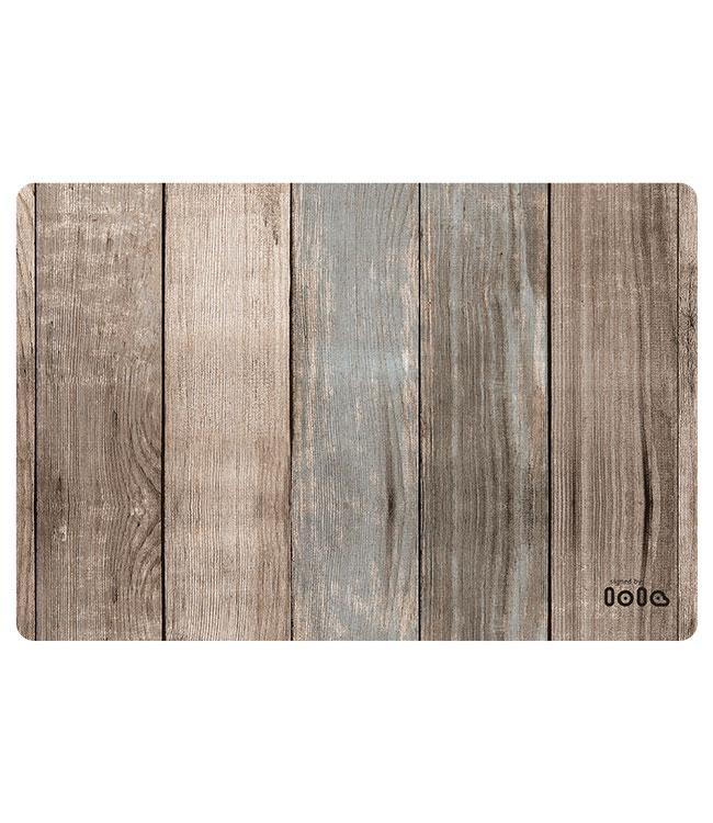 PLACEMATS - NON-SKID - 30x45CM - 12PC. - CABANE PLAYA