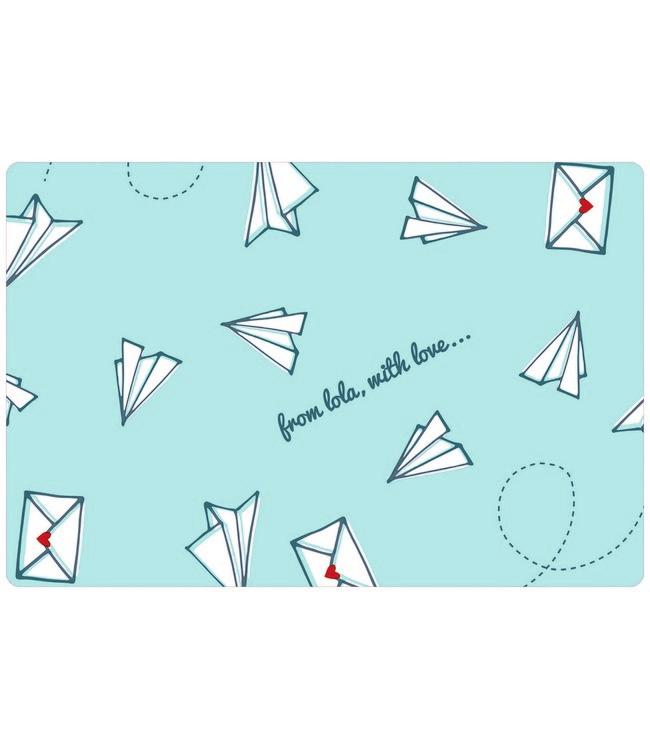 PLACE MAT - non-skid - 30x45cm - 12pc - LOVEMAIL PACIFIC