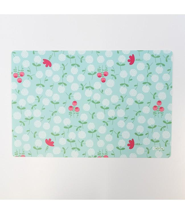 PLACEMAT - anti-slip - 30x45cm - 12st - FLOURISH PACIFIC