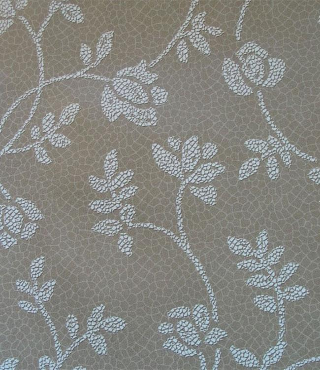 MIMOSA - 160cm - 21m - MOSAIC FLOWER BROWN