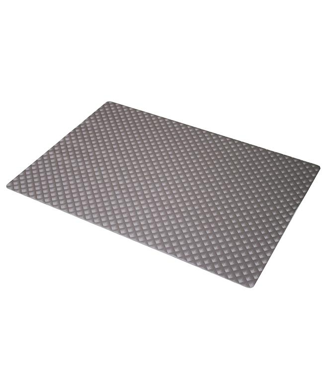 PLACEMAT - POLYLINE - 30x43CM - 12ST. - ZAFIRO FROST GRAY