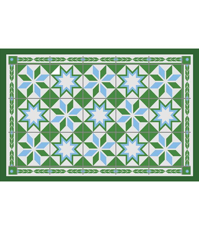 PLACEMATS - NON-SKID - 30x45CM - 12PC. - FEZ GREEN