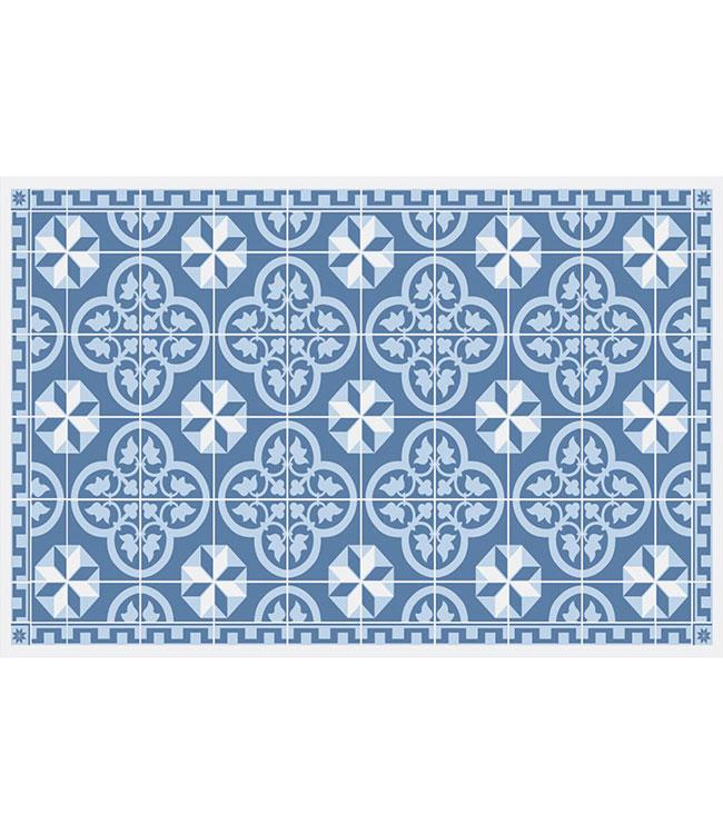 PLACEMATS - NON-SKID - 30x45CM - 12PC. - LISBON BLUE