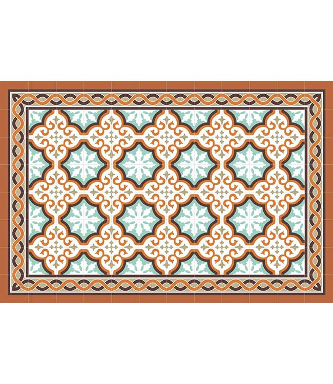 PLACEMATS - NON-SKID - 30x45CM - 12PC. - FARO ORANGE