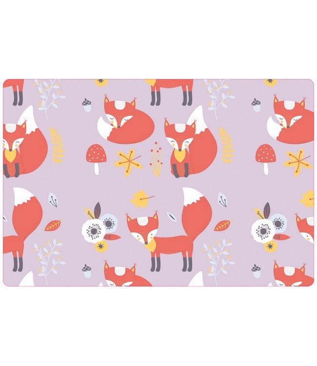 PLACEMATS - NON-SKID - 30x45CM - 12PC. - RED FOX