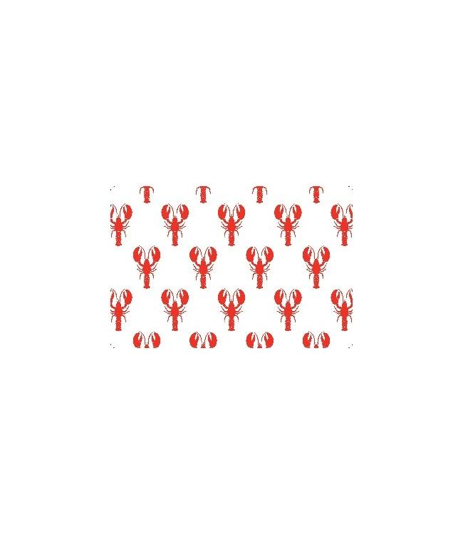 PLACEMATS - NON-SKID - 30x45CM - 12PC. - LOBSTERS