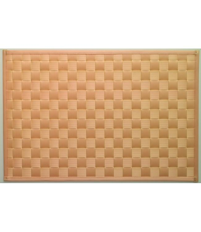 PLACE MAT - PP BRAIDED - 30x43cm - 12pc - F2300800 BEIGE