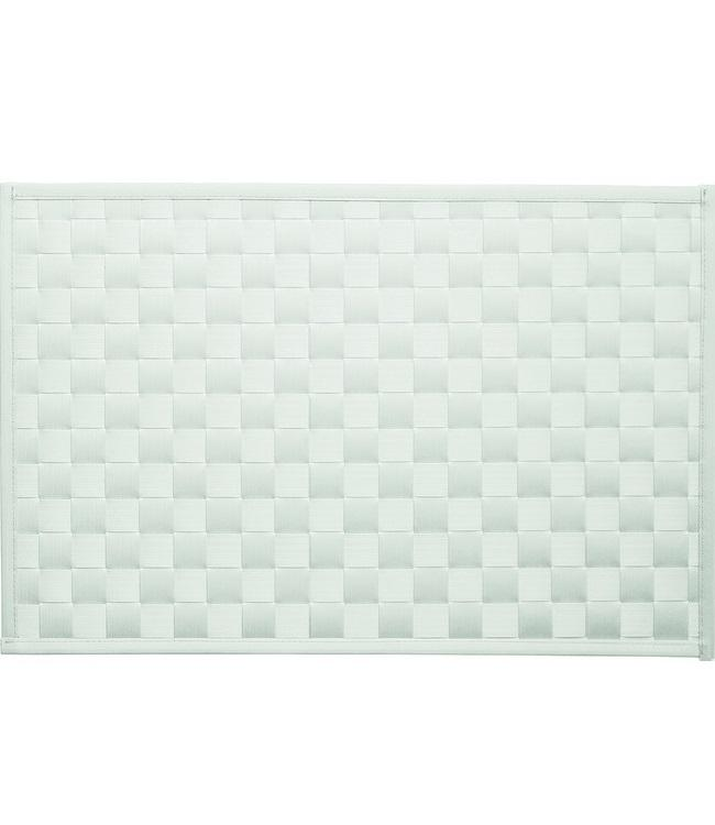 PLACE MAT - PP BRAIDED - 30x43cm - 12pc - F2300816 WHITE