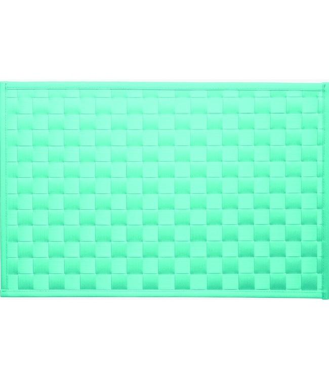 PLACE MAT - PP BRAIDED - 30x43cm - 12pc - F2300821 TURQUO