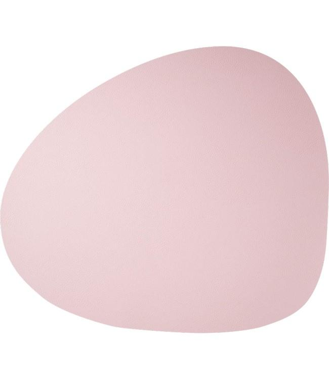 SKINNATUR - coaster pebble - 13x11cm - 12pc - ROSEWATER