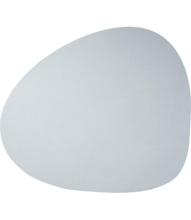 SKINNATUR - coaster pebble - 13x11cm - 12pc - ICY GREY