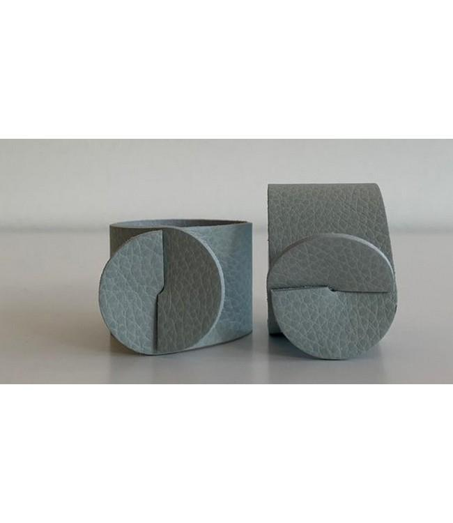 SKINNATUR - napkin ring - Ø 4cm - 12pc - ICY GREY