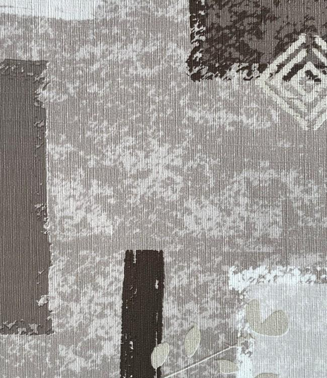 UNINAP - textile effect - 140cm - 15m - ORNAMENT GREY