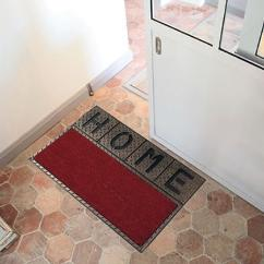 Decorative floor mats